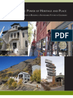 The Economic Power of Heritage and Place