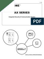 Aiphone Model AX Series - Install & Op Manual 0311- Westside Wholesale - Call 1-877-998-9378