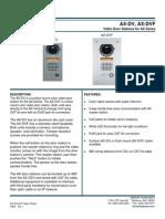 Aiphone Model AX-DV,AX-DVF,SS- Westside Wholesale - Call 1-877-998-9378