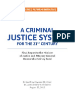 A Criminal Justice System for the 21st Century