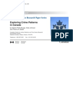 exploring crime patterns in canada