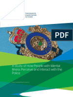 MHCC A Study of How People With Mental Illness Perceive and Interact with the Police