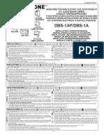 Aiphone Model DBS-1AP Instr-5 Lang- Westside Wholesale - Call 1-877-998-9378