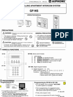 Aiphone Model GF_NS Instr- Westside Wholesale - Call 1-877-998-9378