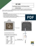 Aiphone Model GF-HID Instr- Westside Wholesale - Call 1-877-998-9378