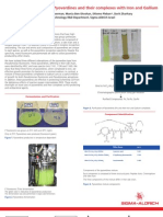 Biological applications of Pyoverdines and their complexes with Iron and Gallium