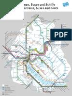 Plan Reseau Zurich Region 2011