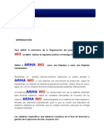 Estructura Organanizacional ARMAWO