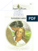 FORBIDDEN WINE