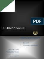 Goldman Sachs-key facts