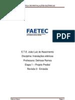 Instalações Elétricas_Projeto predial (Etapa 1)_Revisão 0