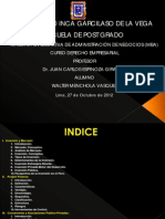 Inversion, Project Finance, Concesiones, App. w.menchola 271012 Ppt