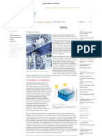 photovoltaics overview