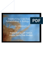 Alaska King Crab Research