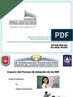 Impacto del Proceso de Adopción de las NIIF