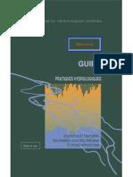 Guide Des Pratiques Hydrologiques
