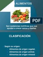 Los Alimentos Yessenia