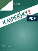 Manual Kaspersky Security Center 9