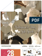 Valentine's Day Gift Guide 2013