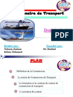 Commissionnaire de Transport