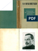 A. Makarenko - Problemas de la educación escolar soviética