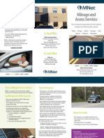 MNet Mileage and Access Services Brochure