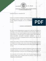 Queja Pedro Pablo Camargo en Contra Organismos de Seguridad Caso Pallomari