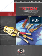 CMP Triton Deluge Proof Cable Glands