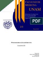 Programas Academicos Del Plan 2010