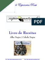 Livro de Receitas Rossi - Alho Negro & Cebola Negra