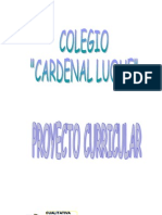 Proyecto Curricular 2012