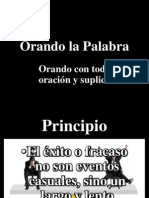 Orando la Palabra # 13 IBE Callao.pptx