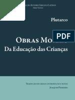 Plutarco, Da educao das crianças