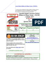Apostila Digital Concurso Polícia Militar de Minas Gerais - PM MG - Soldado 2013