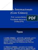 Crimes Internacionais Aula 2013