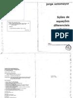 Lições de Equações Diferenciais Ordinárias - Sotomayor
