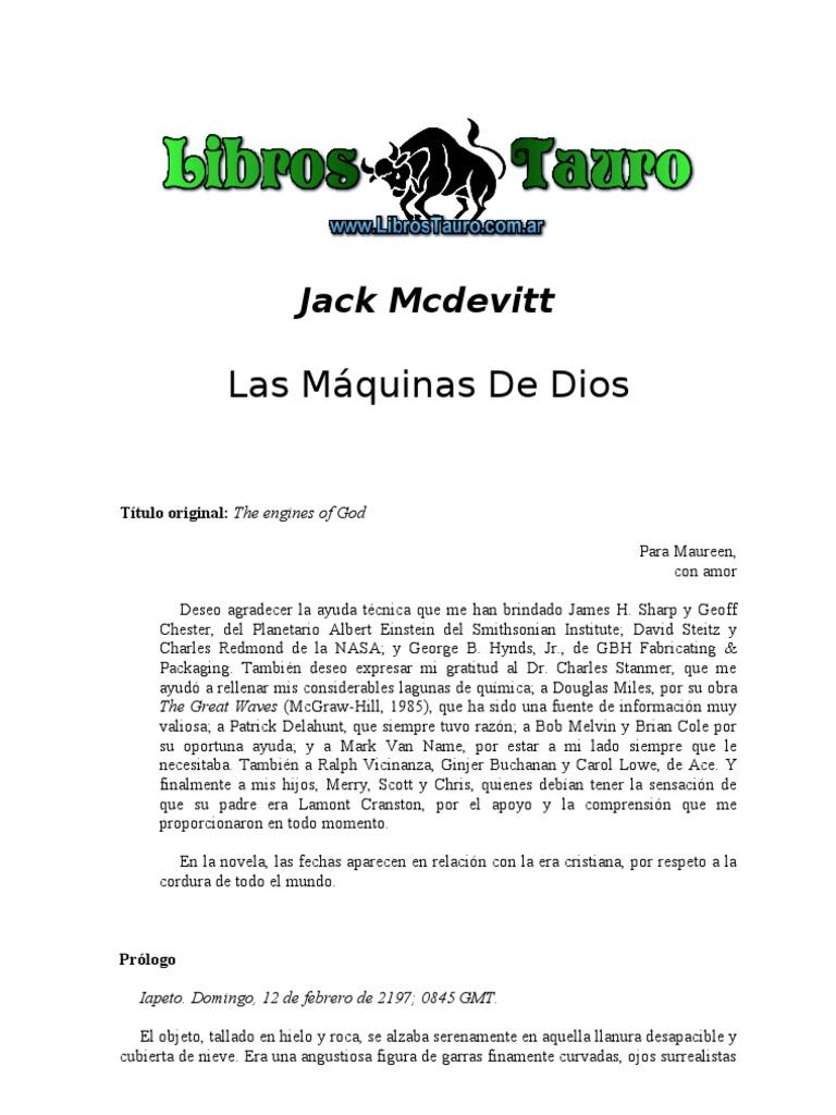 Mcdevitt, Jack - Las Maquinas de Dios