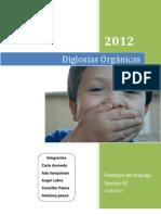 Diglosias Orgánicas INFORME