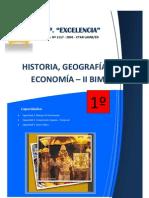 Módulo HISTORIA Primer Grado II BIM