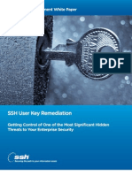 SSH User Key Remediation