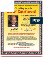 ECW Conference with Bishop Michael Curry