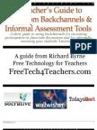 A Teacher's Guide to Classroom Backchannels & Informal Assessment Tools