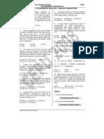 Razmat9a Cronometria (Relojes) y Analisis Combinatorio