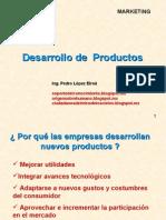 Desarrollo y administración de productos