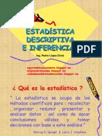 Estadística descriptiva e inferencial