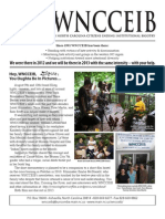 WNCCEIB winter '12-'13 newsletter