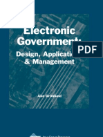 Electronic Government Design - Ake Gronlund