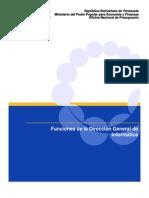 Funciones Dirección General de Informatica