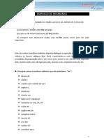 Emprego de Pronomes - COMPLEMENTO