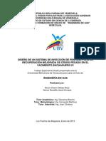 DISEÑO DE UN SISTEMA DE INYECCION DE PENTANO PARA LA RCP EN EL YACIMIENTO BACHAQUERO-01